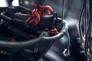šivanje tekstila, konac, teme, alat