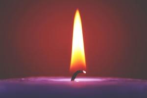 flame, heat, hot, light, candle, wax