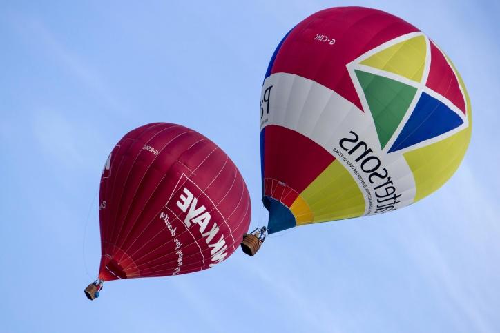 vrući zrak, balon, festival, nebo, plavo nebo, boja, zabave, letjeti, zrak, slobodu