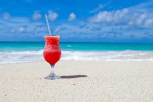 beach, beverage, Caribbean, cocktail, drink, exotic, glass, sand, summer