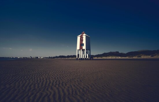 ビーチ、光の家、海、ビーチ、砂浜、海、ライフガード、水泳