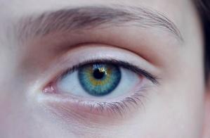 blu, le donne, occhi, sopracciglia, occhi blu, sguardo, faccia