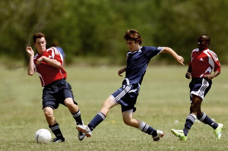 Sport, Ausrüstung, team, Feld, Fußball