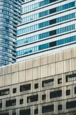 budova, architektúra, dizajn, sklo, perspektívy, urban
