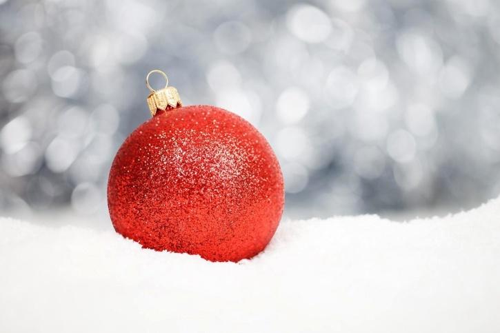 la decoración de navidad, nieve, copo de nieve, ornamento, día de fiesta, símbolo, invierno