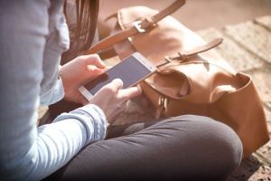 electronics, girl, woman, gadget, hands, mobile, phone