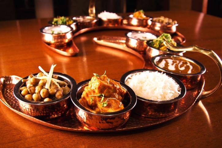 cocina, delicioso, cena, cuenco, comida tradicional, mesa de madera