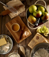 food, recept, diet, fruits, nuts, kitchen, apples, flour