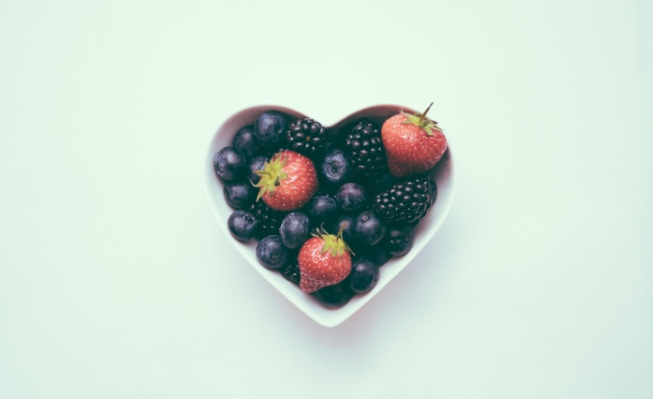 strawberries, food, fruits, berries, raspberries, blueberries