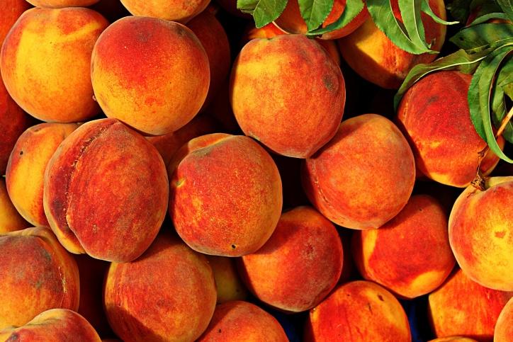 ผลไม้ พีช ผลไม้ ผลไม้ปลอดสารพิษ อาหาร อาหาร