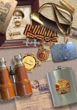 military, paper, awards, binoculars, history, world war two