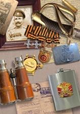 militär, papper, awards, kikare, historia, andra världskriget