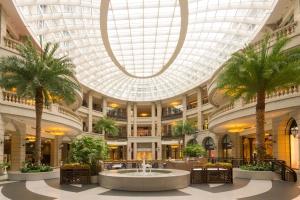 Trung tâm mua sắm, nội thất, trang trí, kinh doanh, trần, đương đại, Đài phun nước