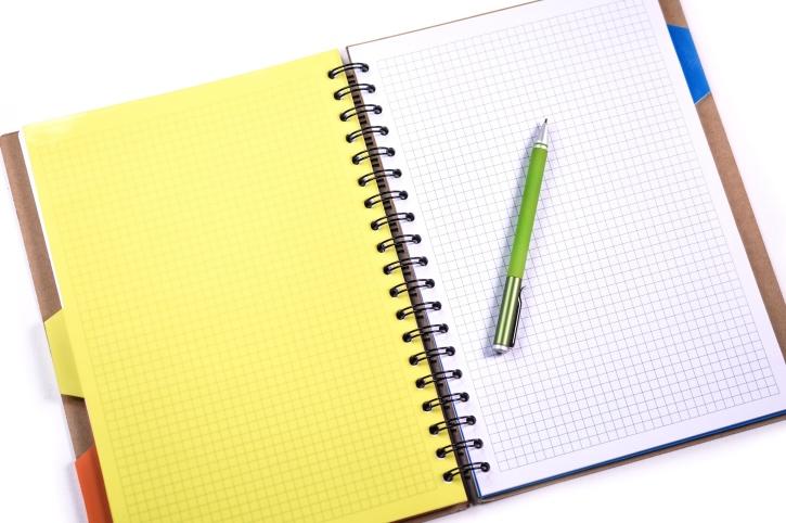 Papier, Kugelschreiber, Planung, Erinnerung, Schule, Notizen