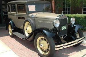 automobile, rétro, brillant, chrome, classique, oldtimer, voiture