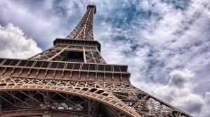 Eiffel tower, Paris, France, construction, architecture, landmark, architecture, building, city