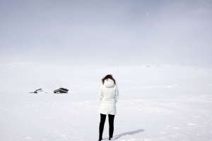 winter, clothing, woman, snow, weather, white, cold