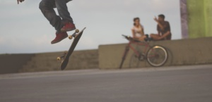jump, people, skate, sport