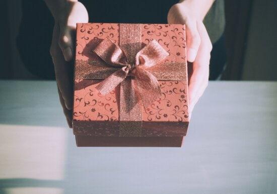 Geburtstag, Box, Dekoration, Weihnachten, Behälter, Geschenk