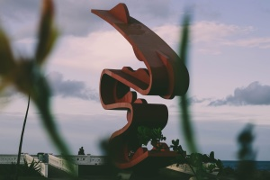 sculpture, seashore, statue, architectural, design, art