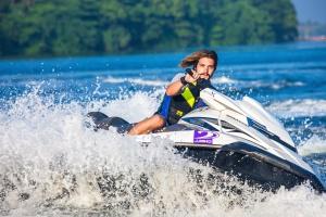 watercraft, waves, splash, sport, jet ski, man, sport