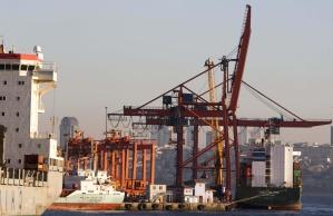 Schiffe, Meer, Wasser, Hafen, Industrie, Hafen, Boot