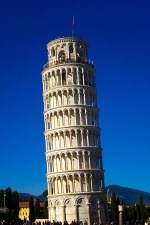 Italia, Pisa leaning tower, tower, summer, travel, tourist attraction