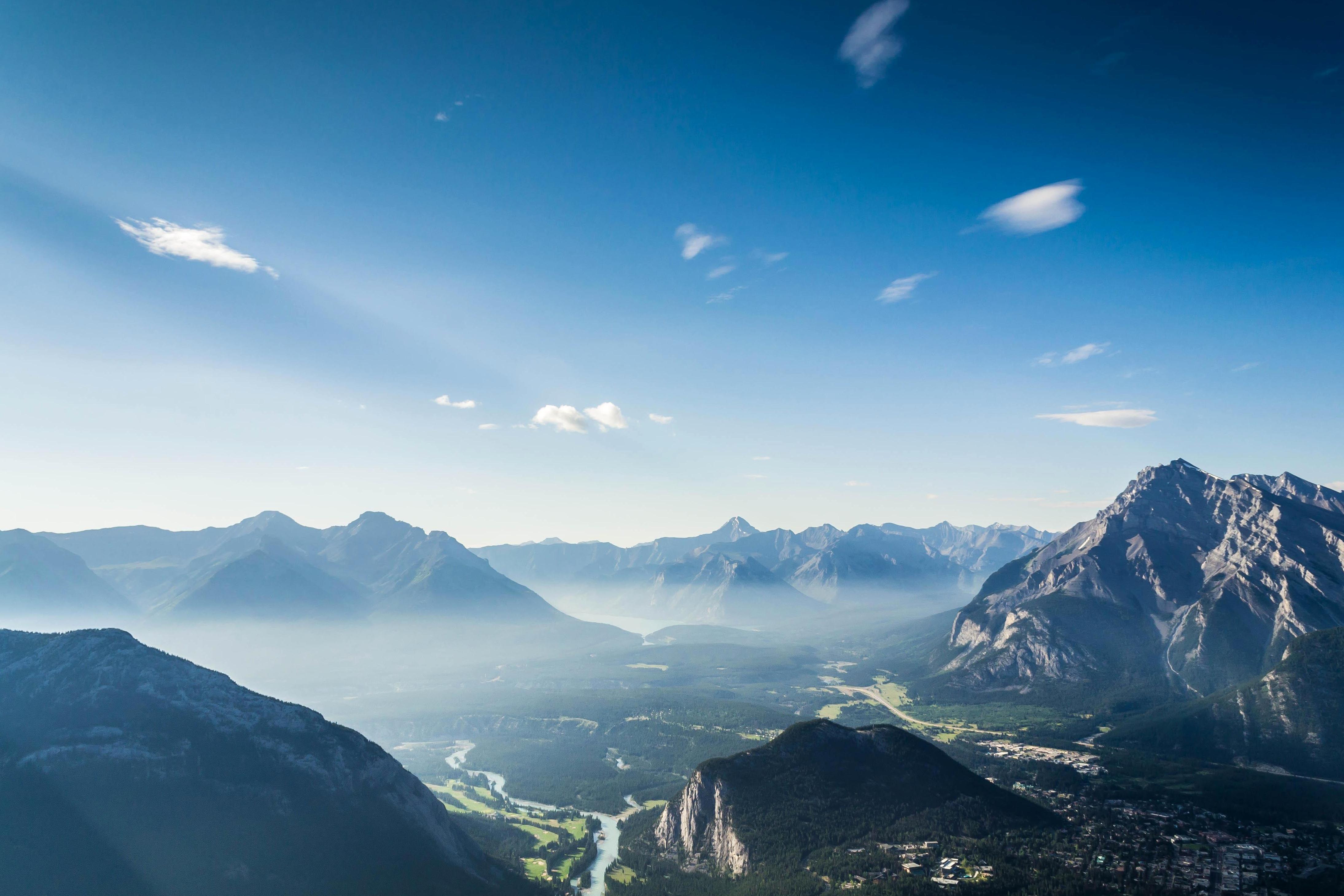 kostenlose bild landschaft berge natur himmel blauer