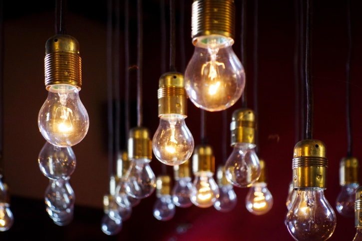 light, idea, electricity, light bulbs, electronic, night