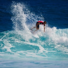 dostum, kişi, su, okyanus, dalgalar, spor, sörf tahtası, dalga sörf