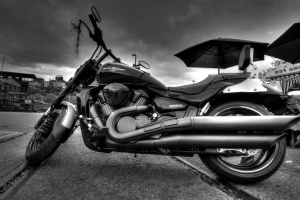 motorbike, motorcycle, vehicle, black, trip, roadtrip