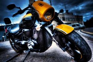 motorbike, sidewalk, motorcycle, travel, trip, road trip, vehicle