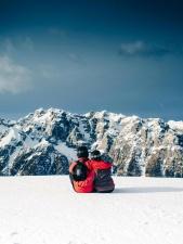 mountain climbing, sport, person, mountains, snowy mountains, mountain peaks, cold, snow, people