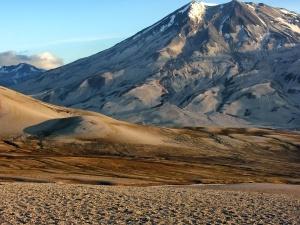 mountain, peak, nature, sand, desert