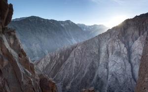 stijene, planine, planinski vrhovi, nebo, priroda