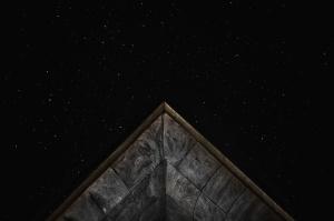 관점, 하늘, 별, 어둠, 탐사