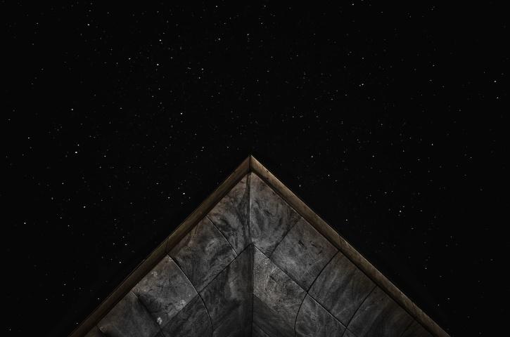 näkökulmasta, taivas, tähdet, tumma, etsintä