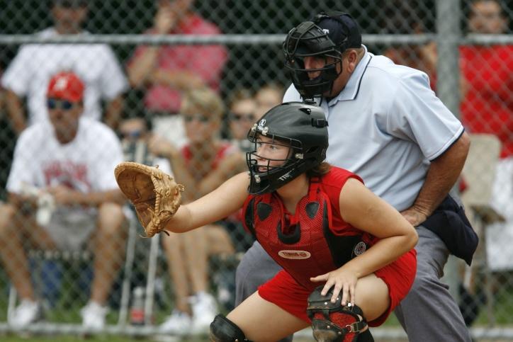 бейзбол, играчи, Ловецът, игра, ръкавица, спорт