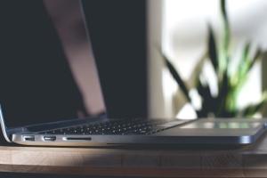无线, 工作, 技术, 连接, 键盘, 笔记本电脑