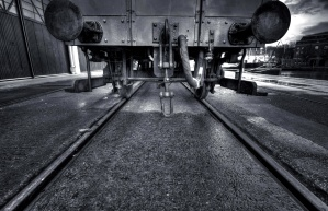 industrie, rails, train, voie, transport, chemin de fer