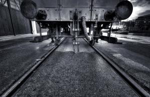 industry, rails, train, way, transportation, railway