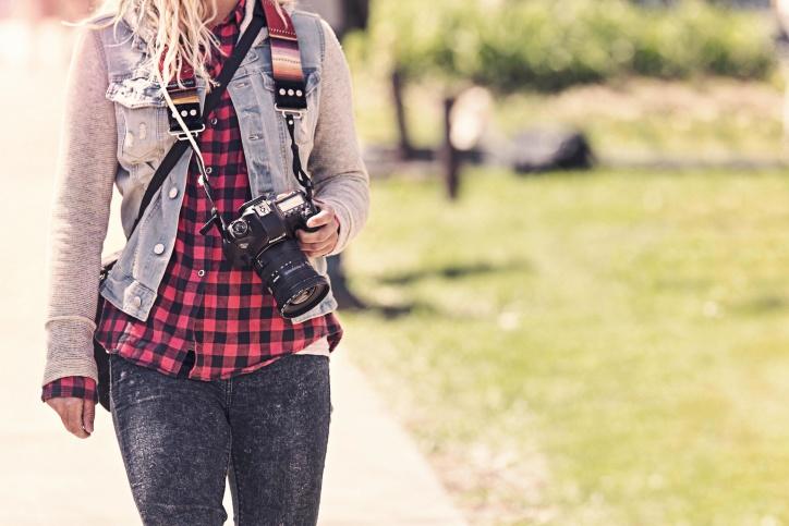 摄影, 照相机, 镜头, 女性, 专业, 专业照片
