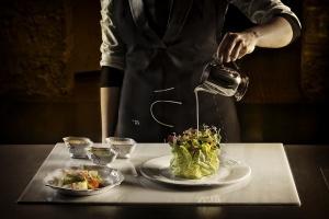 restaurant, kitchen, wine, glasses, table, dining, lunch, elegant
