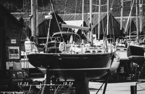 Meer, Boote, Hafen, Yachten, Yachthafen, Motorboote, Häuser
