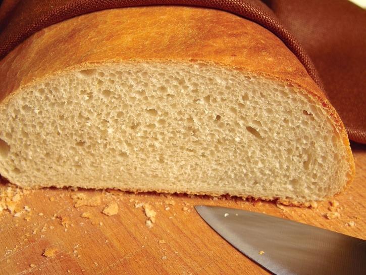 bakning, bröd, frukost, kost, råg, slice, mat