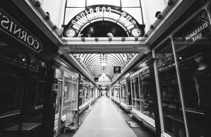 Obchody, nákupné centrum, interiér, luxusné, nakupovanie, stavebné
