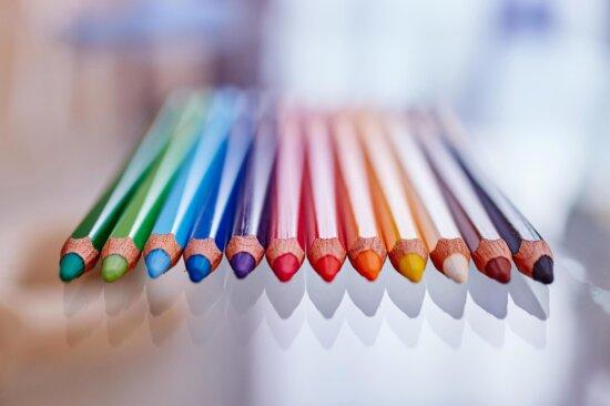 malen, bunt, Farben, Holzfarben