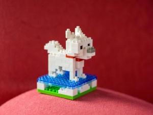 plastic toy, dog, plastic, cute
