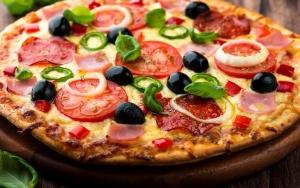 povrće, talijanska hrana, pizza, restoran, večera, jelo, ručak, obrok