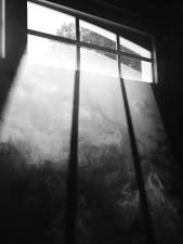reflection, dark, shadow, smoke, window
